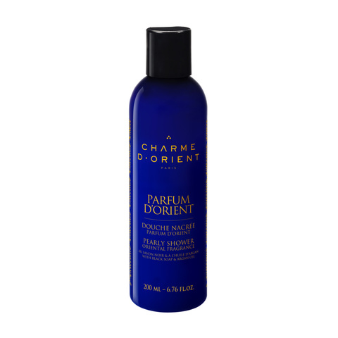 CHARME D'ORIENT | Перламутровый гель для душа с восточным ароматом / Pearly Soap Shower with Black Soap, Argan Oil, (200 мл)