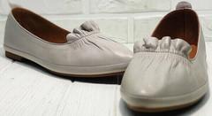 Классика туфли женские на низком ходу кожаные Wollen G036-1-1545-297 Vision.