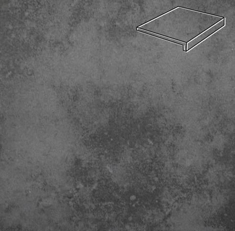 Stroeher - Euramic Cavar E 543 fosco 294х115х52х8 артикул 4832 - Клинкерная ступень прямоугольная