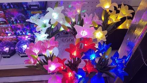 Лилии  светодиодные