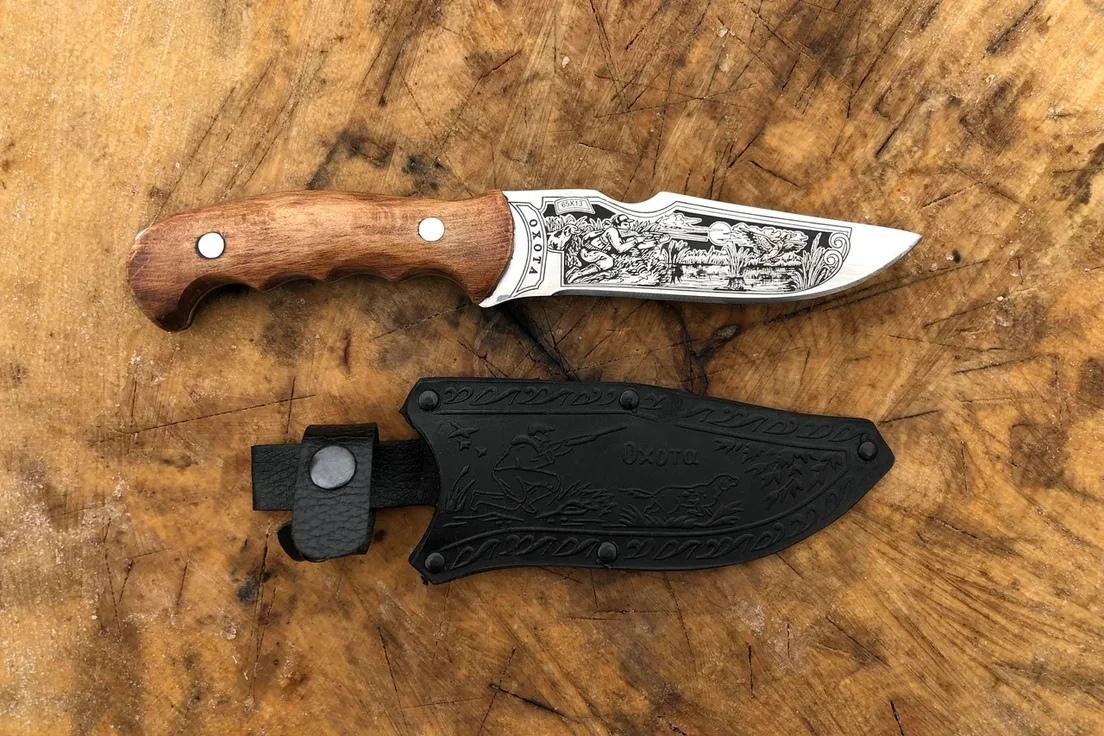 """Кизлярские ножи Кизлярский нож """"Охота"""" C7526HYdWOs.jpg"""