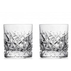 Набор стаканов для виски 290 мл Trama RCR Cristalleria Italiana (2 шт), фото 1