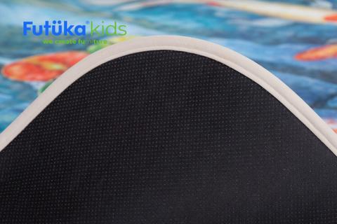 Плюшевый коврик 120х160 см (Пруд удачи)