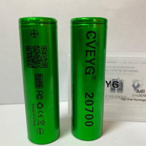 Аккумулятор CVEYG 20700 3100мАч 30А