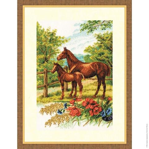 Размер: 32,5×22 см;¶Канва: Аида кремовая 18;¶Вышивается в 1 нить;¶Количество цветов: 41.