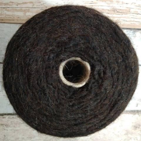 Альпака Pecci Filati Bellone melang 120 коричневый