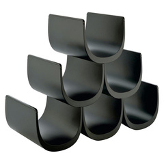 Подставка модульная для винных бутылок Noe черная, фото 2