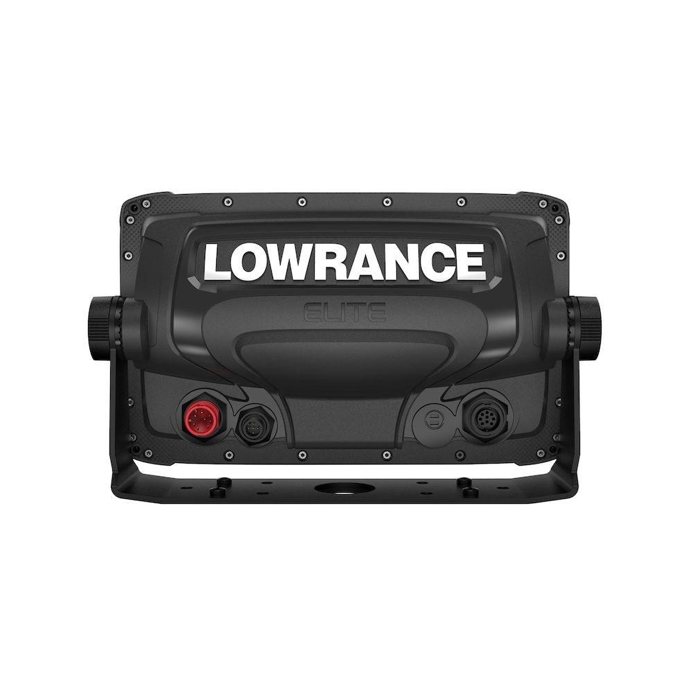 Lowrance Elite-9 Ti2 вид сзади