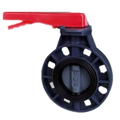 Дроссельная заслонка ПВХ 1,0 МПа диаметр 75 PoolKing
