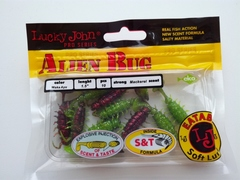 Мягкая приманка Lucky John Series ALIEN BUG 1,5in (38 мм), цвет T44, 10 шт.