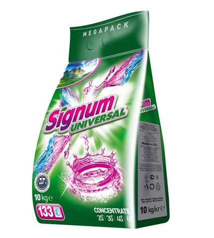 Стиральный порошок Signum Universal универсальный 10 кг