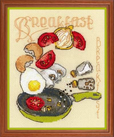 Набор для вышивания крестом «Завтрак» (1684)
