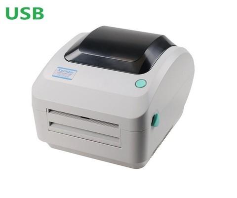 Термопринтер этикеток Xprinter XP-470B белый