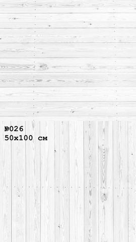 Фотофон виниловый «Зимняя изба» №026