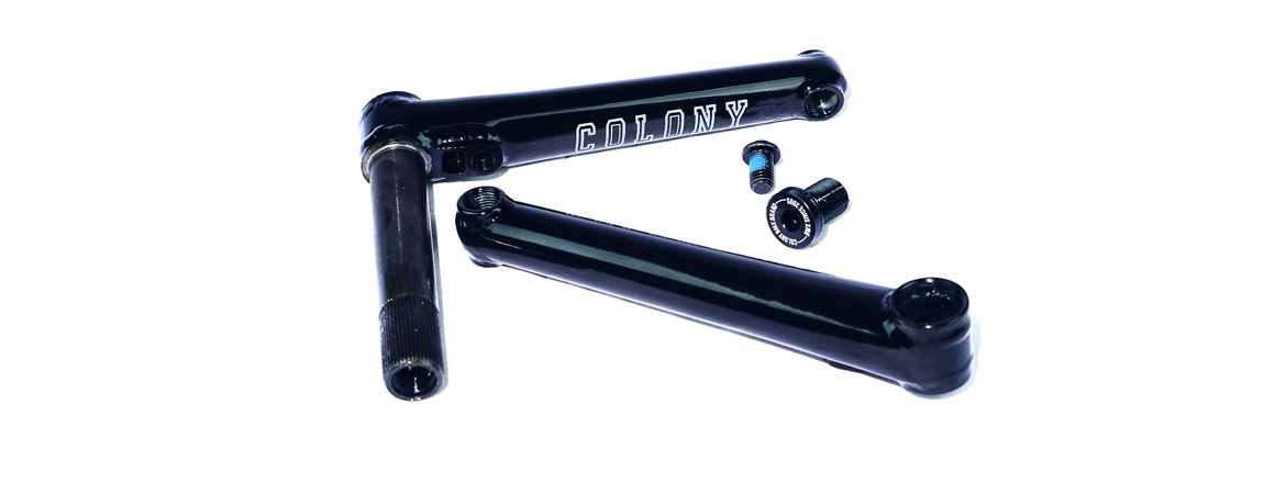 Шатуны Colony 22's Cranks / 165mm / черный