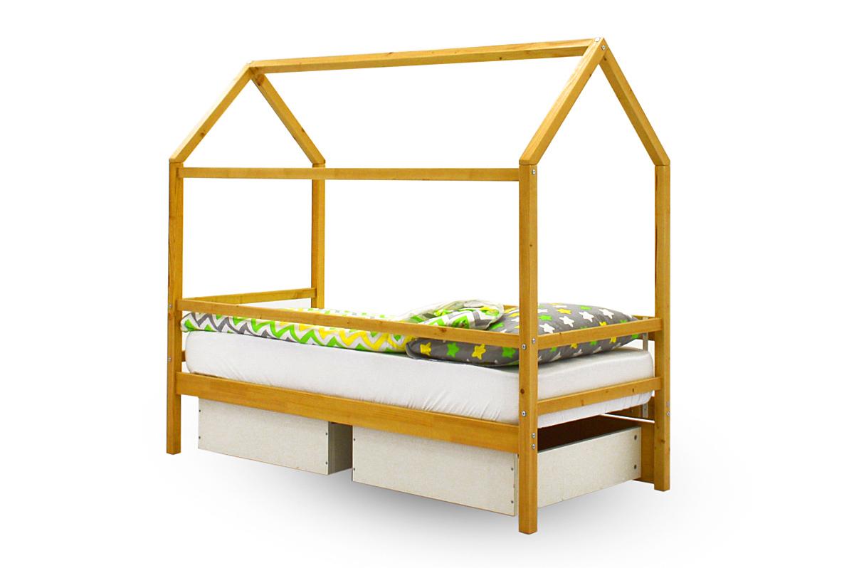 Кровать-домик «Svogen дерево»