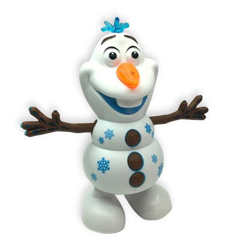 Холодное сердце 2 светящаяся игрушка новогодний Олаф