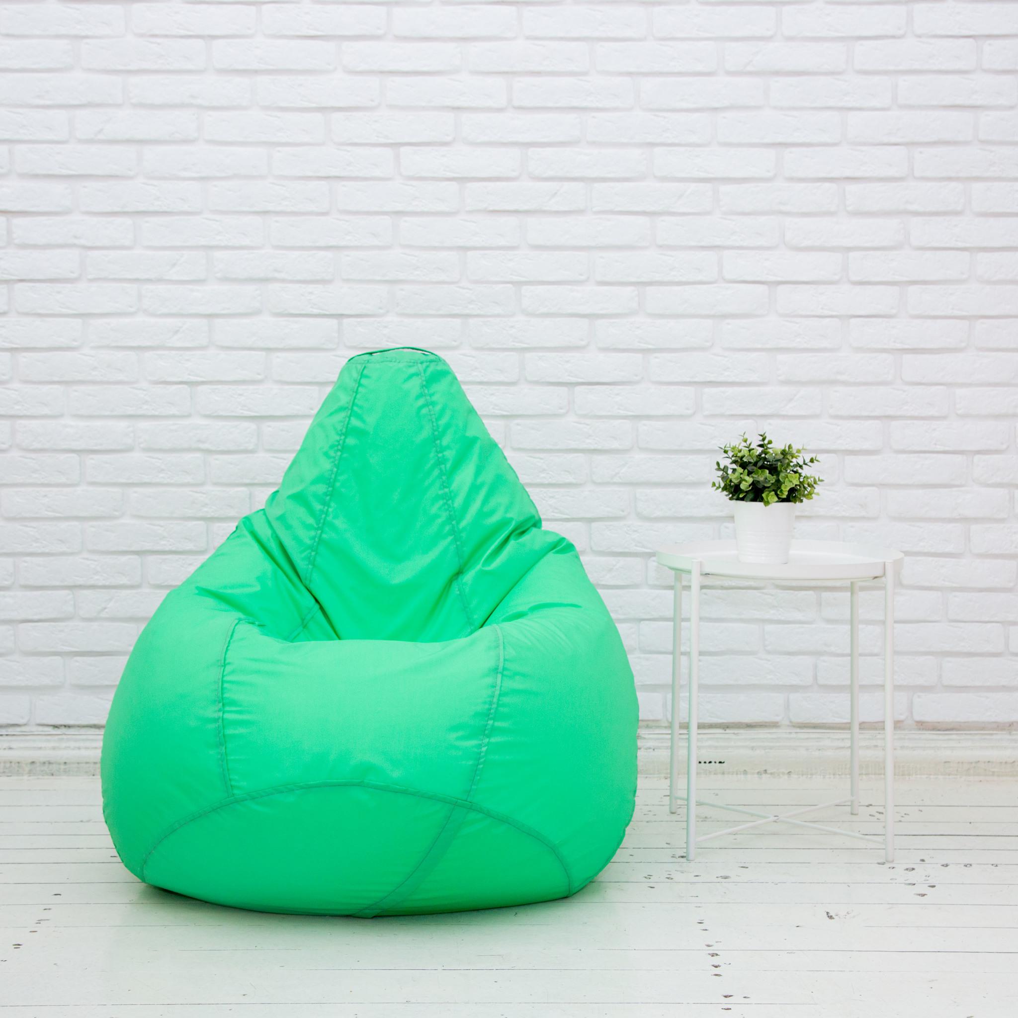 Груша М плащёвка, несъёмный чехол (зеленый)