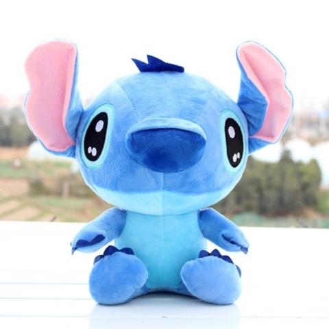 Подушка игрушка Стич голубой (85 см)