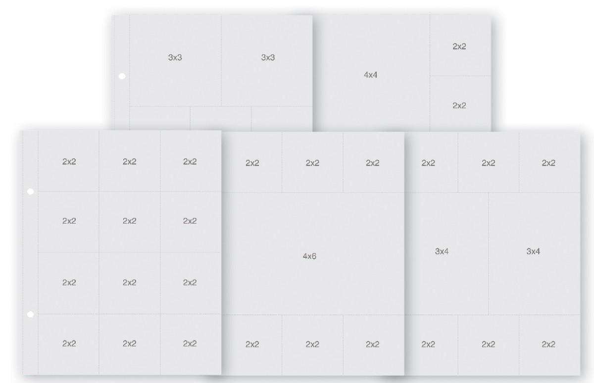 Набор фотофайлов Pocket Pages 15x20 см