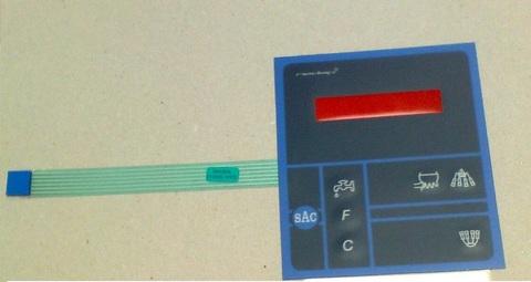 24700302 Панель передняя самоклеящаяся для MPC-1