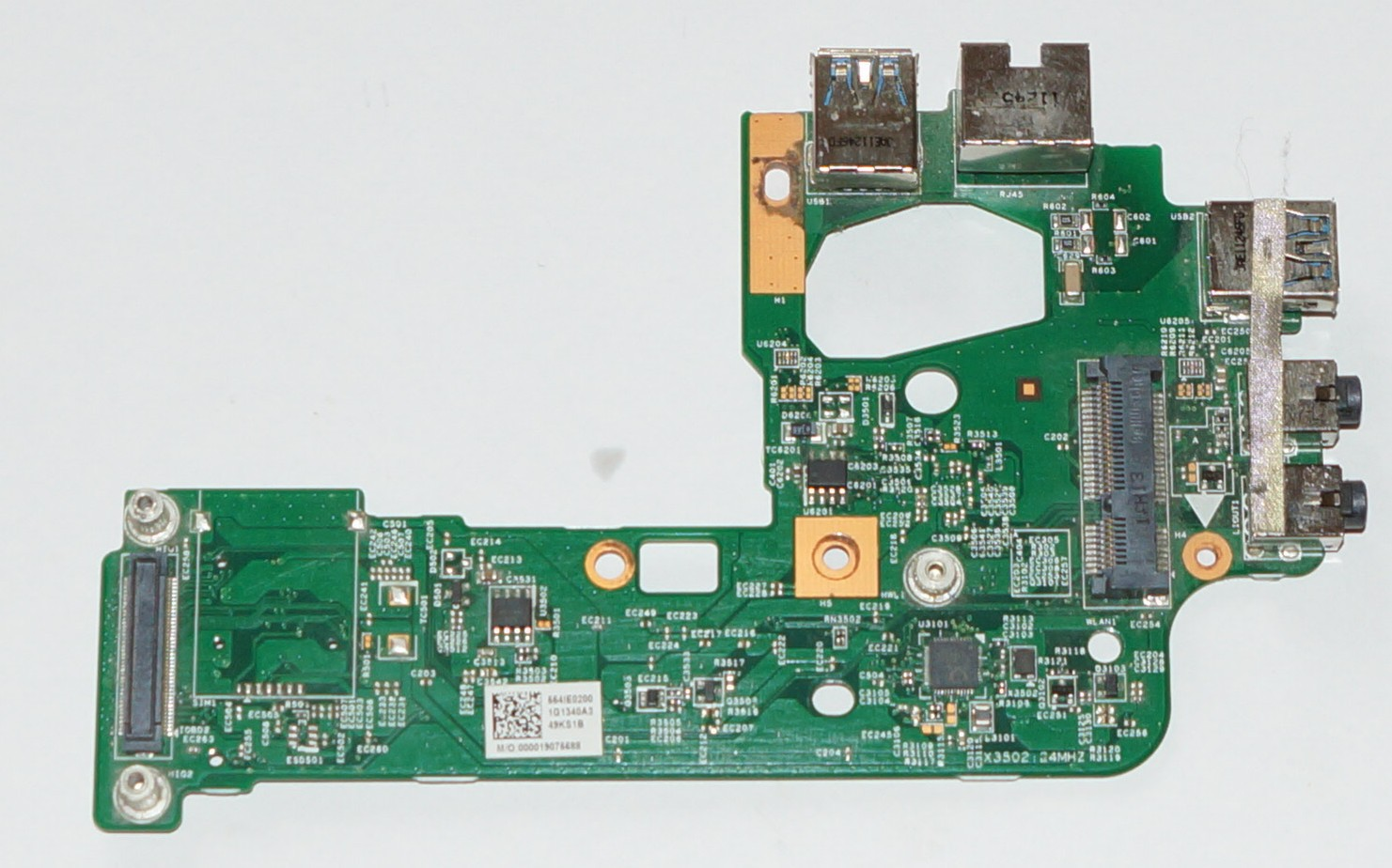 10793 48.4IE14.011 USB, Audio, LAN RJ45, Mini PCI board Dell Inspiron N5110, 15R