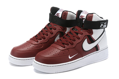 Nike Air Force 1 07 LV8 High 'Burgundy/White'