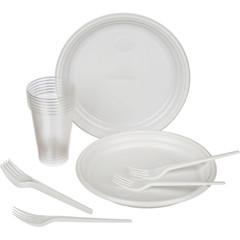 Набор одноразовой посуды Пикник на 6 персон