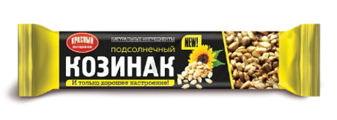 Козинак Подсолнечный 50г. Красный пищевик