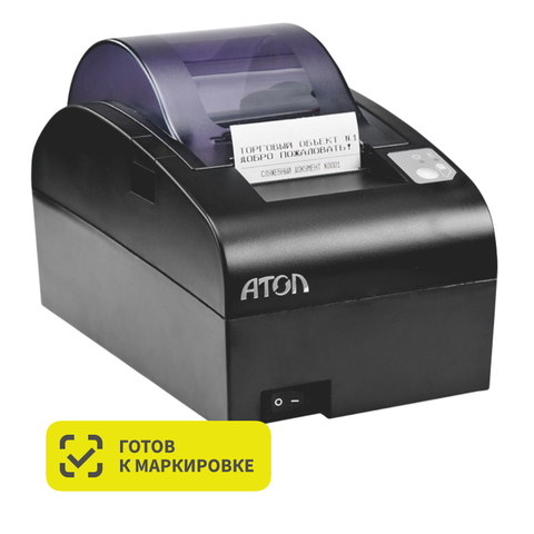 Фискальный регистратор АТОЛ 55Ф (Без ФН, чёрный)