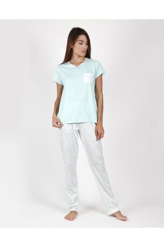 Пижама женская со штанами ADMAS Classic 55107