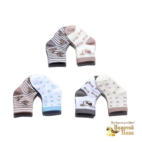 Носочки малышам (0-12) 180516-Р3791