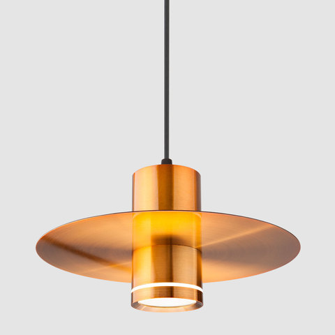 Подвесной светодиодный светильник 50155/1 LED бронза