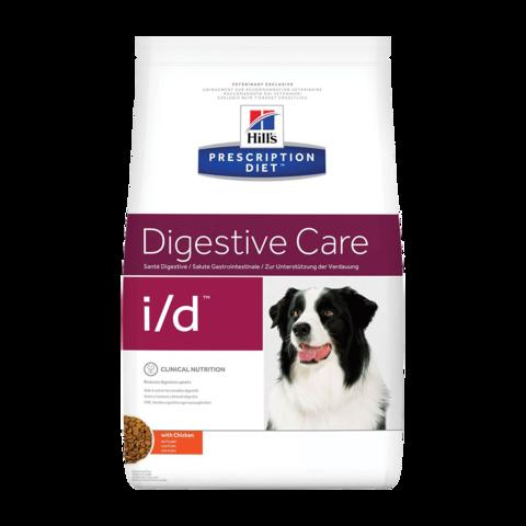 Hill's Prescription Diet i/d Digestive Care Сухой диетический корм для собак при расстройствах пищеварения, жкт с курицей