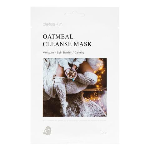 Очищающая маска с экстрактом овса