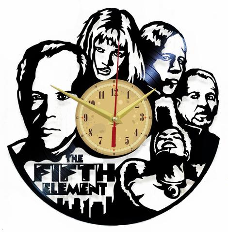 Пятый элемент Часы из Пластинки