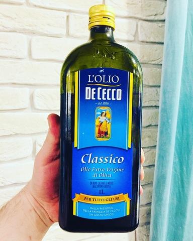 Масло оливковое Extra Virgin DE CECCO (1 литр)