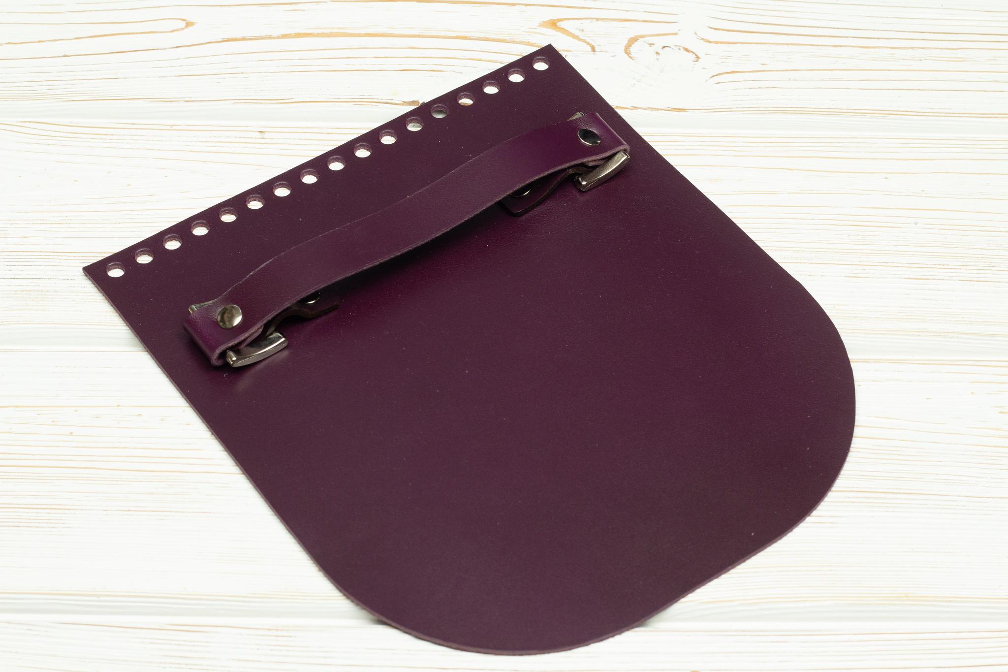 """Вся фурнитура Клапан для сумочки с ручкой кожаный """"Марсала"""" IMG_3515.jpg"""