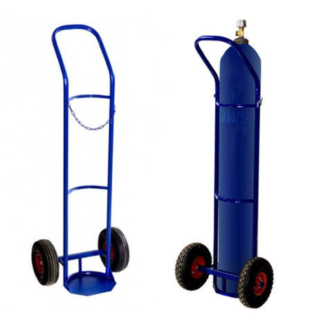 Тележка для баллонов ГБ-1 кислородных, 1 баллон (2 колеса d 250мм, лит. резина)