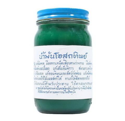 Традиционный зеленый тайский бальзам OSOTIP 200 мл