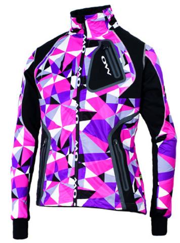 Лыжная разминочная куртка One Way Valbor Fucsia Diamond женская