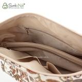 Сумка Саломея 500 вышивка золотистый