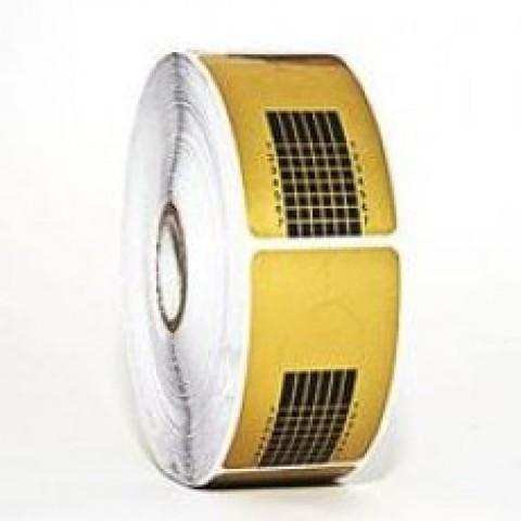 Форма для моделирования бумажные золото/серебро, квадрат 500шт/уп