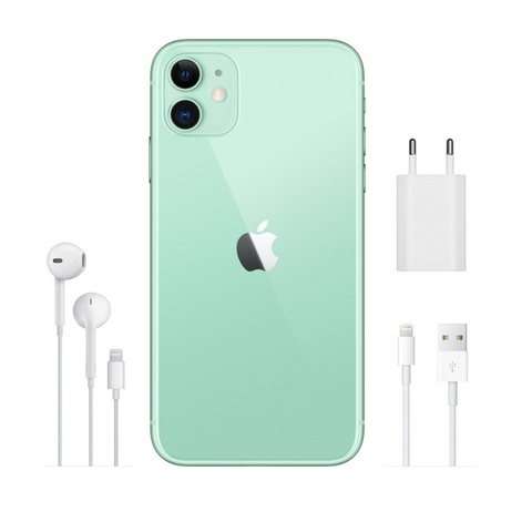 Смартфон Apple iPhone 11 128GB Green (зеленый) -РОСТЕСТ-