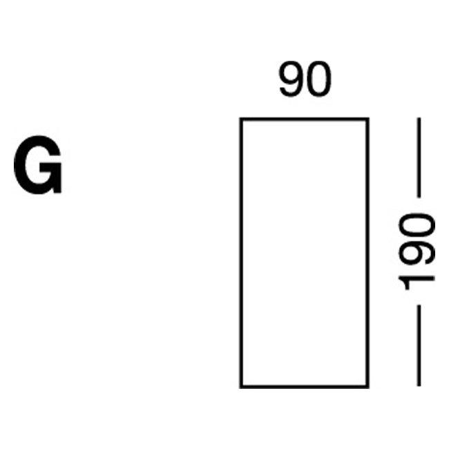Elastic sheet / model G / blue