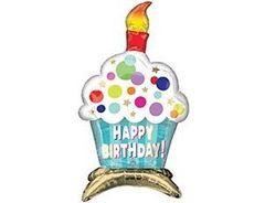 А Фигура, Кекс, Happy birthday! На подставке, 15