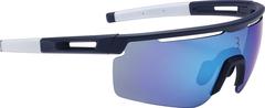 Очки солнцезащитные BBB Avenger PC dark blue lenses синий, белый