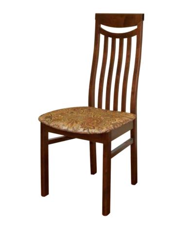 Стул М88 деревянный коньяк, ткань 10