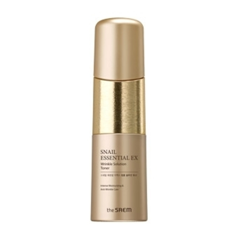 THE SAEM Snail Essential Тонер антивозрастной Snail Essential EX Wrinkle Solution Toner 150мл