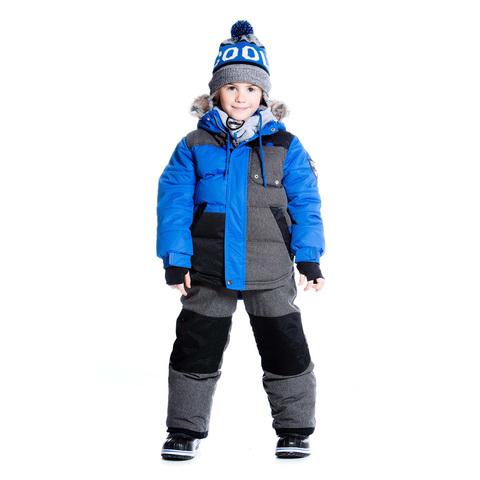 Комплект для мальчика серый с голубым Deux par Deux